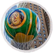 Wizard Of Oz In New York  Round Beach Towel by Lilliana Mendez