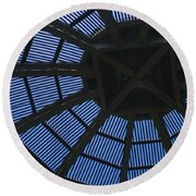 Wooden Dome Round Beach Towel