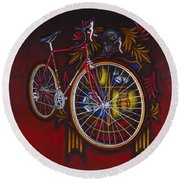 Woodrup Team 75 Round Beach Towel