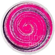 Work Of Art Round Beach Towel by Catherine Lott