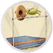 World Record Round Beach Towel