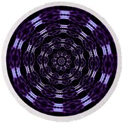 Wormhole Round Beach Towel
