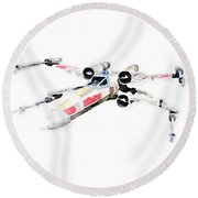 X-wing Round Beach Towel
