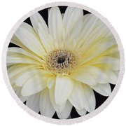 Round Beach Towel featuring the photograph You Are Loved by Jeannie Rhode