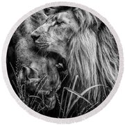 You Will Be Queen Round Beach Towel by Traven Milovich