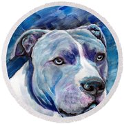 Ziggy Round Beach Towel