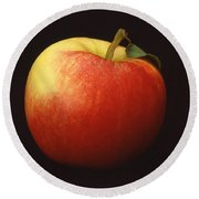 Apple Round Beach Towel by Mark Greenberg