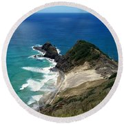 Cape Reinga - North Island Round Beach Towel