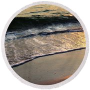 Gentle Tide Round Beach Towel