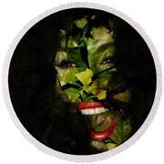 Round Beach Towel featuring the photograph Ivy Glamour by Clayton Bruster