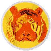 Le Tigre Round Beach Towel
