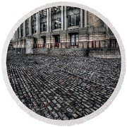 Lloyds Building Round Beach Towel