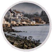 Ocean Grove Round Beach Towel