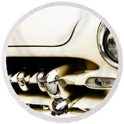 1949 Mercury Round Beach Towel
