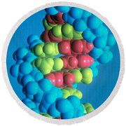 Dna Round Beach Towel