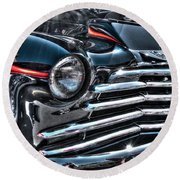 48 Chevy Convertible 2 Round Beach Towel