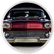'58 Impala Custom Round Beach Towel