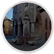 Cannobio - Italy Round Beach Towel