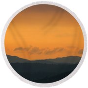 Adirondacks Round Beach Towel