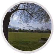 Afternoon Kew Round Beach Towel