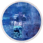 All That Remains Round Beach Towel