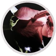 Round Beach Towel featuring the photograph Always And Forever 2 by Janie Johnson