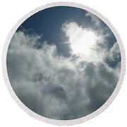 Angelic Round Beach Towel