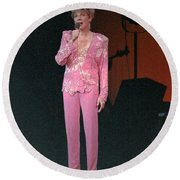 Round Beach Towel featuring the photograph Anne Murray by Mike Martin