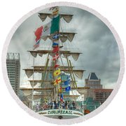 Arm Cuauhtemoc Round Beach Towel