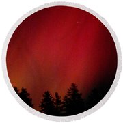 Aurora 01 Round Beach Towel