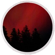 Aurora 02 Round Beach Towel