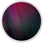Aurora 03 Round Beach Towel