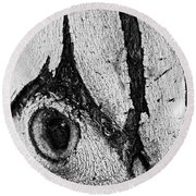 Bark Eye Round Beach Towel