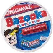 Bazooka Round Beach Towel