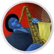 Ben Webster Round Beach Towel