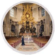 Bernini Masterpiece Round Beach Towel