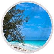 Bimini Beach Round Beach Towel