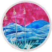 Bisbee Round Beach Towel