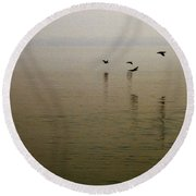 Round Beach Towel featuring the photograph Bliss by Clayton Bruster
