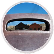 Bodie Ghost Town I - Old West Round Beach Towel