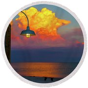 Brilliant Round Beach Towel