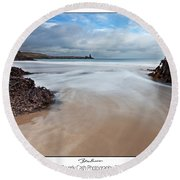Broadhaven Round Beach Towel
