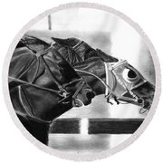 By A Nose Round Beach Towel