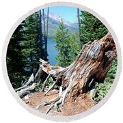 By Jenny Lake Round Beach Towel by Dany Lison