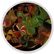 Candy Dish Round Beach Towel