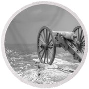 Cannon Round Beach Towel