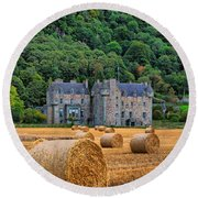 Castle Menzies Round Beach Towel