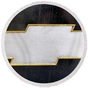 Chevy Bowtie Round Beach Towel by Glenn Gordon