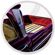 Chevy Custom Truckbed Round Beach Towel