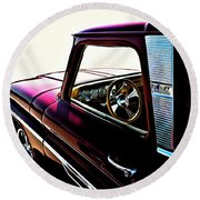 Chevy Pickup Round Beach Towel